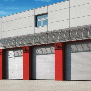 Bramy garażowe przemysłowe segmentowe 11