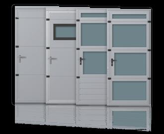 Drzwi boczne i przejściowe w bramach garażowych