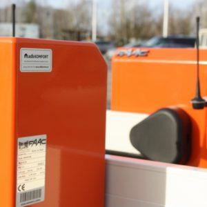 KGHM - szlabany hydrauliczne FAAC RAPID, kontrola dostępu na karty zbliżeniowe, pętle indukcyjne._resize
