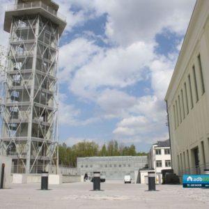 Automatyczne hydrauliczne blokady drogowe - Instalacja ADB Komfort -Centrum Nauki i Sztuki Stara Kopalnia w Wałbrzychu