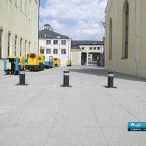 Słupki drogwe  automatyczne Fadini Vigilo - Instalacja ADB Komfort 1
