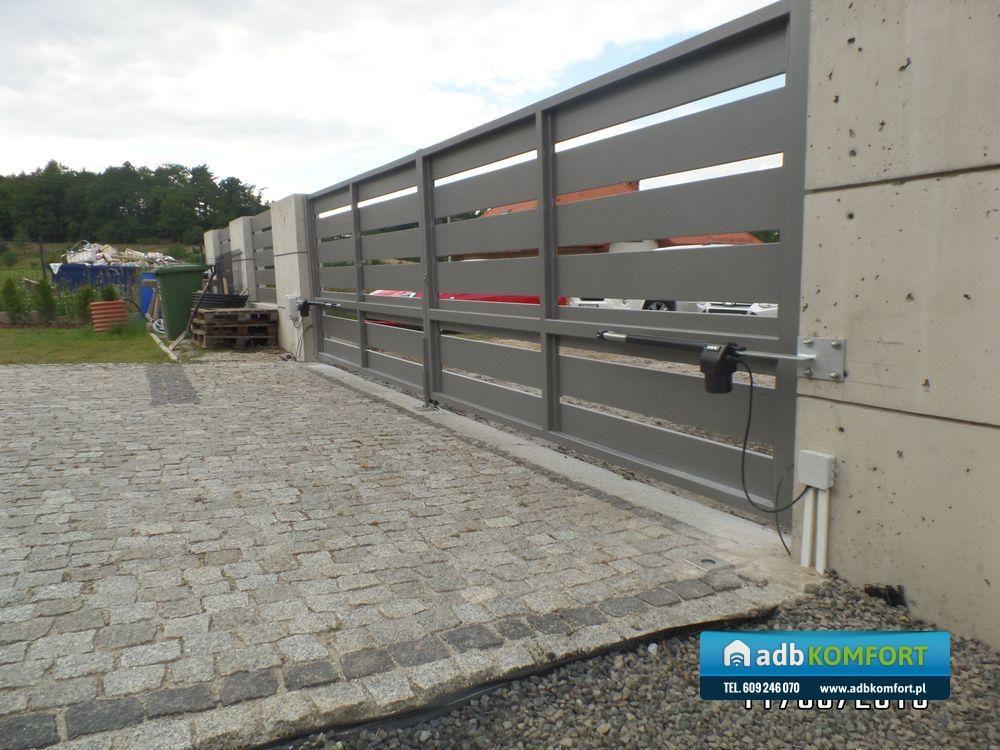 Zautomatyzowanie bramy przy pomocy zestawu FAAC 414 – Szczawno Zdrój