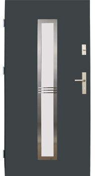 Drzwi stalowe Wikęd 12A