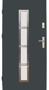 Drzwi stalowe Wikęd 12B