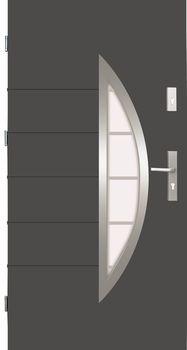 Drzwi stalowe Wikęd 22B