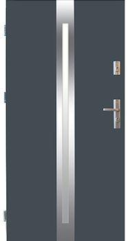 Drzwi stalowe Wikęd 25