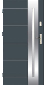 Drzwi stalowe Wikęd 26