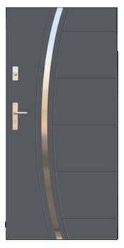 Drzwi stalowe Wikęd 40