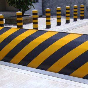 Bloker drogowy zapora antyterrorystyczna - sprzedaż, instalacja, serwis