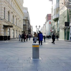Zapory drogowe automatyczne słupki parkingowe FAAC J275 FAAC CITY - sprzedaż, instalacja, serwis
