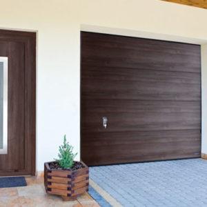 Drzwi Aluminiowe Wiśniowski Deco Basic, brama garażowa garażowa segmentowa