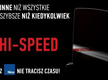 Automatyka Nice Hi-Speed folder