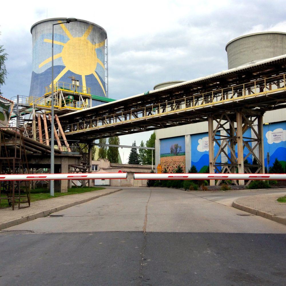 ADB instaluje i serwisuje szlabany na Elektrowni Turów