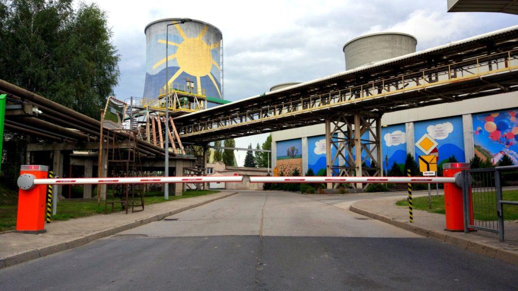 Dostawa i instalacja szlabanów NICE na elektrowni PGE TURÓW - Brama Wschodnia