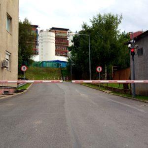 Dostawa, montaż i serwis szlabanów NICE M-BAR na elektrowni PGE TURÓW - Droga Esowata Dolna