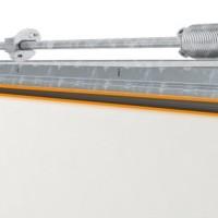 Bramy garażowe segmentowe termoizplacyjne - Elastyczne izolacyjne osłony międzypanelowe