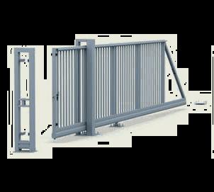 Brama przesuwna PI 130 ręczna firmy Wiśniowski