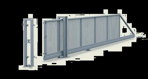 Brama przesuwna PI-200 reczna
