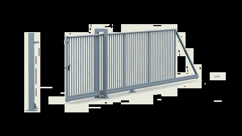 Brama przesuwna Wiśniowski PI 95 ręczna