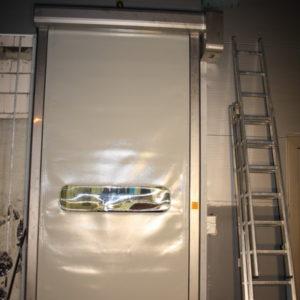 brama szybkobieżna INOX, zewnętrzna,  wzmocniona i ocieplona kurtyna_resize