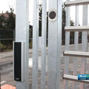 Bramka obrotowa wysokoa Gastop BA, czytnik kart zbliżeniowych Satel