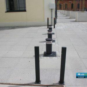 Słupki drogwe  automatyczne Fadini Vigilo - Instalacja ADB Komfort 3