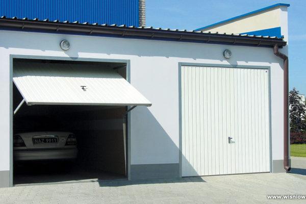 Bramy garażowe uchylne – ręczne i automatyczne, trwałe, na wymiar i w niskiej cenie