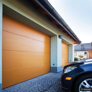 Brama garażowa segmentowa UniPro bez przetłoczeń