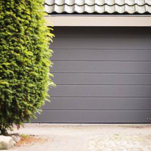 Brama garażowa segmentowa UniPro panel z przetłoczeniem wysokim