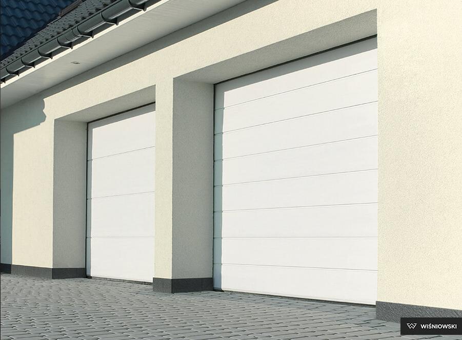 Chwalebne Bramy garażowe segmentowe sekcyjne. Bramy garażowe segmentowe CL67
