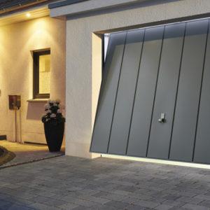 Brama garażowa uchylna wzor V