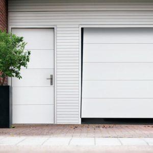 Brama garażowa uchylna wzor H
