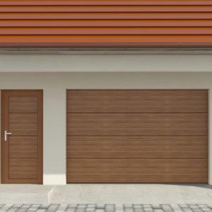 Drzwi boczne garażowe DK