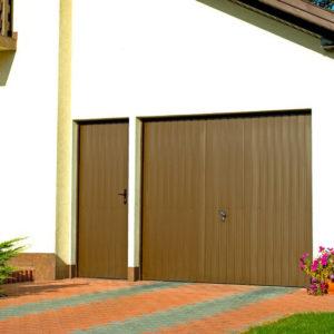 Drzwi boczne przetloczenie pionowe