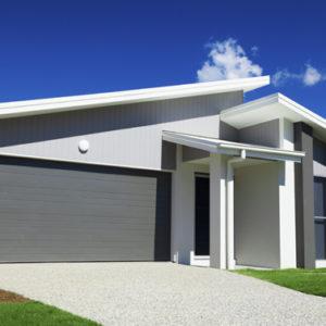 Brama garażowa segmentowa grafit 2