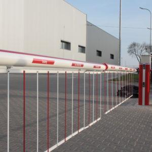 Montaż szlabanów hydraulicznych FAAC B680 - Clinico Medical, Błonie