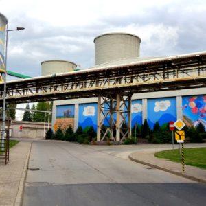 Dostawa, montaż i serwis szlabanów NICE M-BAR na elektrowni PGE TURÓW - Brama Wschodnia