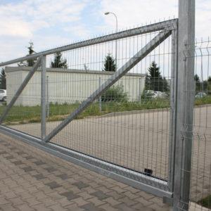 Dostawa i montaż brama ogrodzeniowa z napędem FAAC 741i szlaban hydrauliczny FAAC B680  - lokalizacja Dzierżoniów