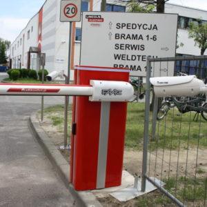 Kontrola dostępu - Szlaban - czytniki kart - sczytywanie tablic LPR