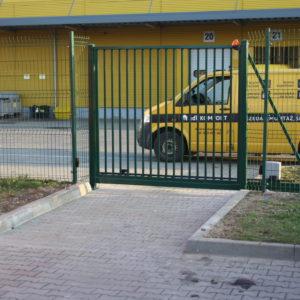 Wykonanie i instalacja bramy przesównej automatycznej - lokalizacja Wrocław