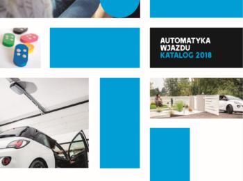 CAME automatyka do bram katalog cennik 2018