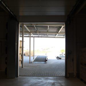 15. Podłączenie dużej przemysłowej kurtyny powietrznej do bramy Hormann