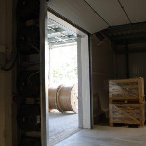 16. Brama Hormann zsynchronizowana z przemysłową kurtyną powietrzną - podłączenie ADB Komfort