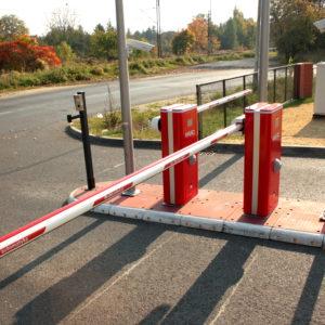 3. Kontrola dostępu do parkingu KGHM w Lubinie - instalacja ADB Komfort