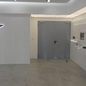4. Drzwi płaszczowe stalowe dwuskrzydłowe p.poż Wiśniowski - Dzierżoniów - montaż ADB Komfort